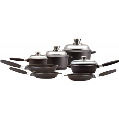 Deluxe Set Ceramic Cookware Sets Eurocast Usa