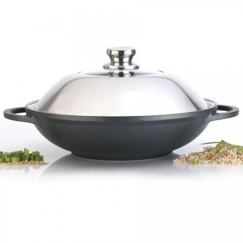 Large Chinese Wok Ceramic Cookware Eurocast Usa